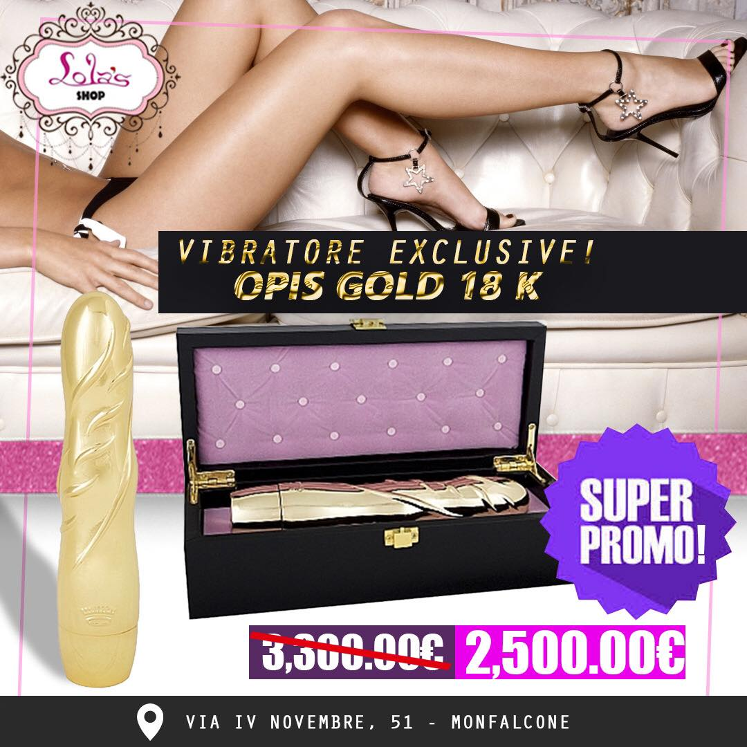 VIBRATORE EXCLUSIVE OPIS GOLD 18K
